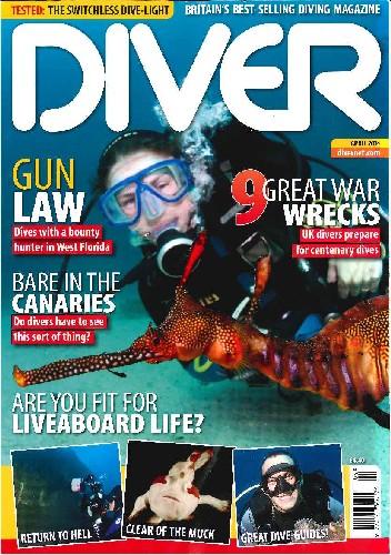 Diver Magazine - April 2014